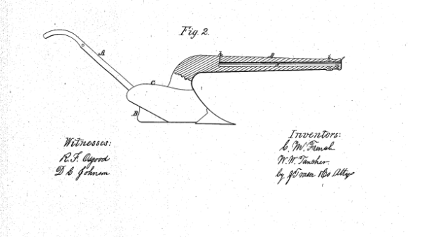 Плуг-ружьё: схема