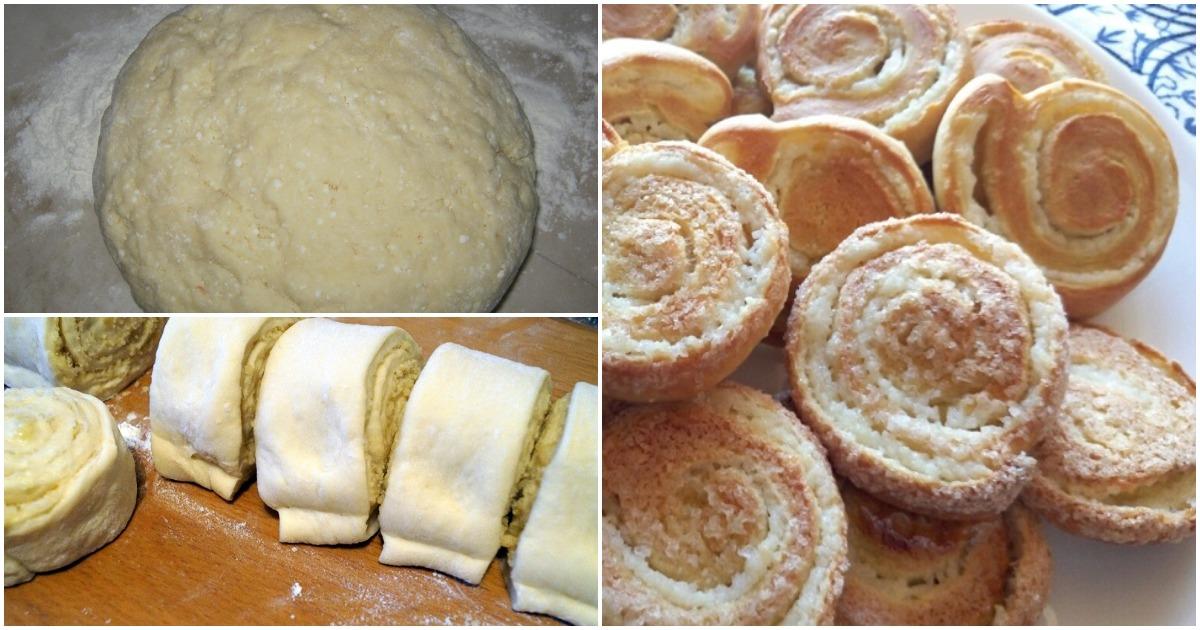 Аппетитные спиральные булочк…