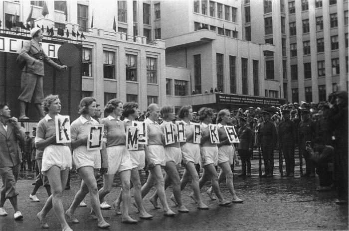 Нижнее белье в Советском Союзе