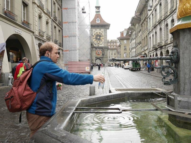 Вся вода в Швейцарии - питьевая жизнь в Швейцарии, интересно, факты, швейцария