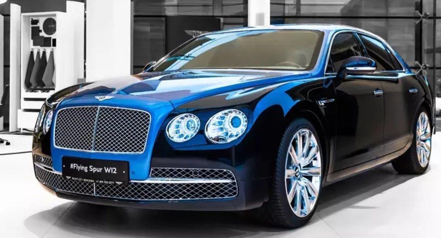 Пурпурный Bentley Bentayga стал тысячной работой ателье Mulliner Автомобили