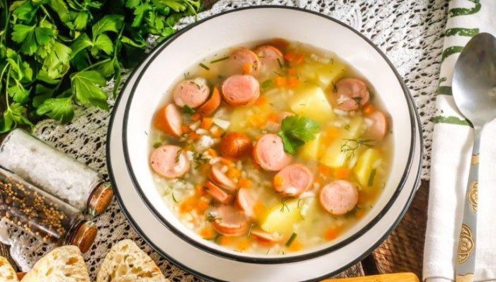 Быстрый суп. \ Фото: vilkin.pro.