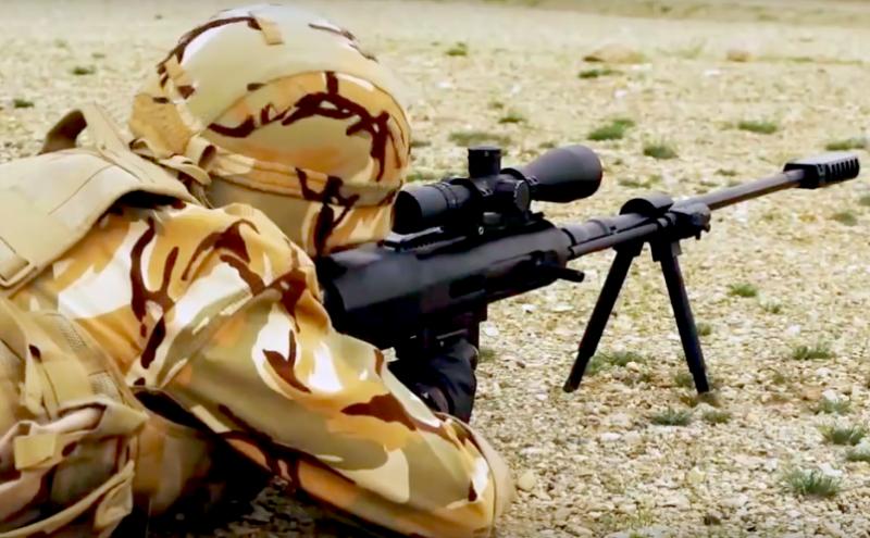 Трофейные снайперские винтовки в Сирии: иранская, НАТОвская и самодельная
