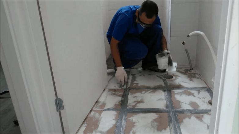 Ремонт пола в туалете вдохновяляемся,ремонт