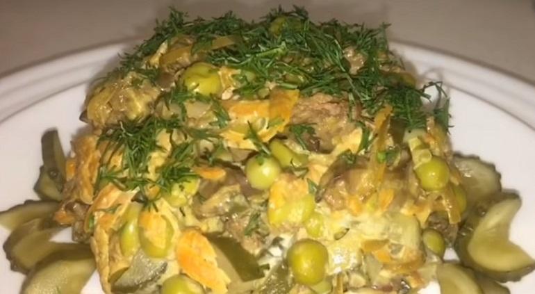 Нежнейший салат «Илона» с ку…