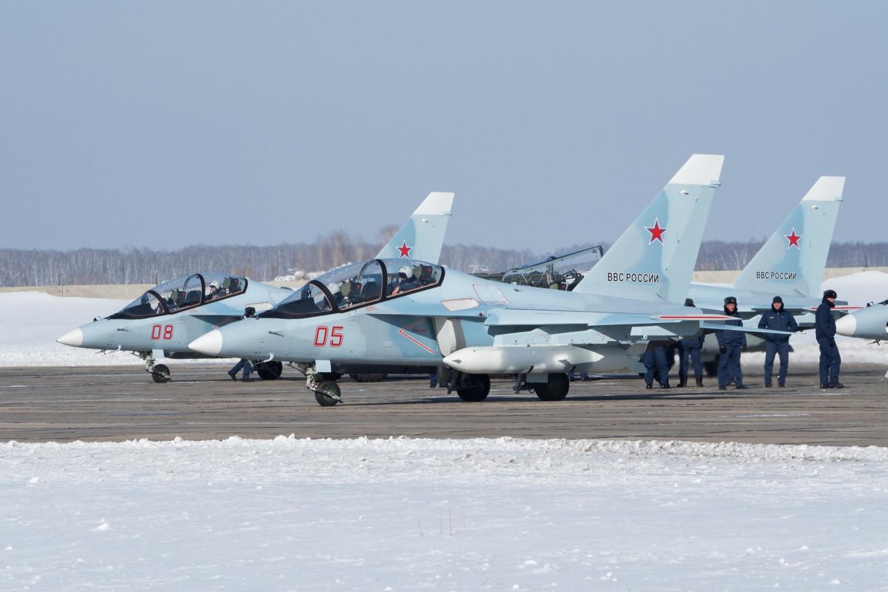 Четыре новых Як-130 переданы…