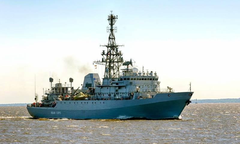 Российский флот взял под кон…