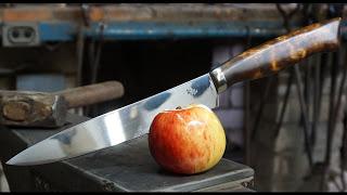 Кованый Нож из штока задвижки
