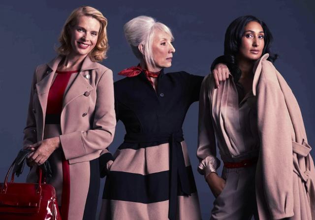 Мода для полных женщин за 50 лет