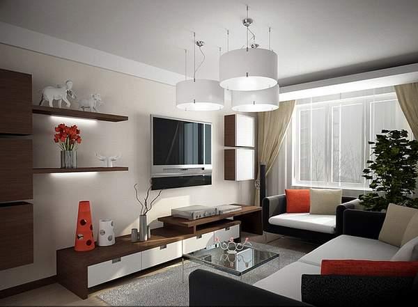 как правильно расставить мебель в однокомнатной квартире, фото 4