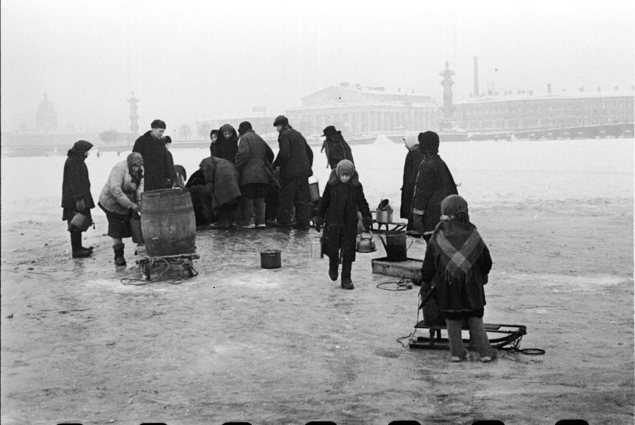 Блокадный ленинград картинки