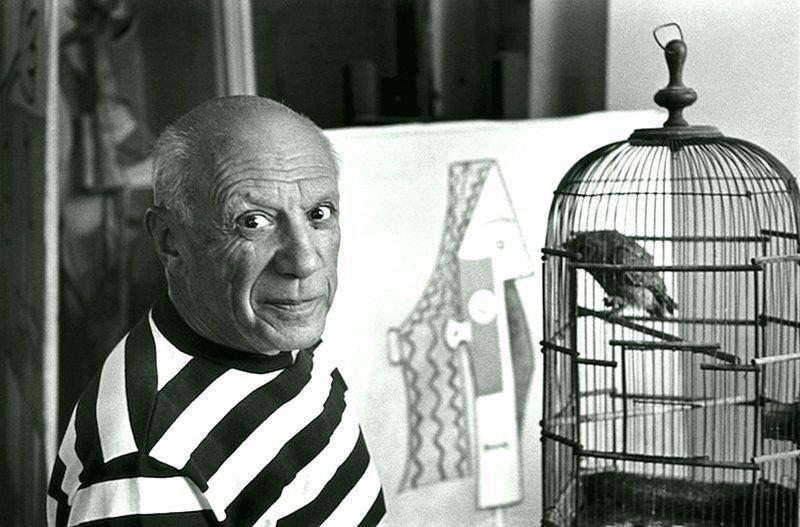 Рене Бурри - Пабло Пикассо, Канны 1957 Весь Мир в объективе, история, фотография