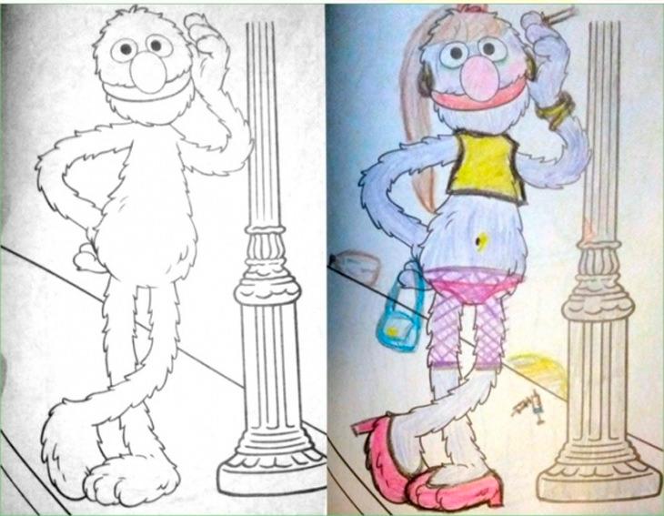 Почему не стоит доверять детские раскраски Папе