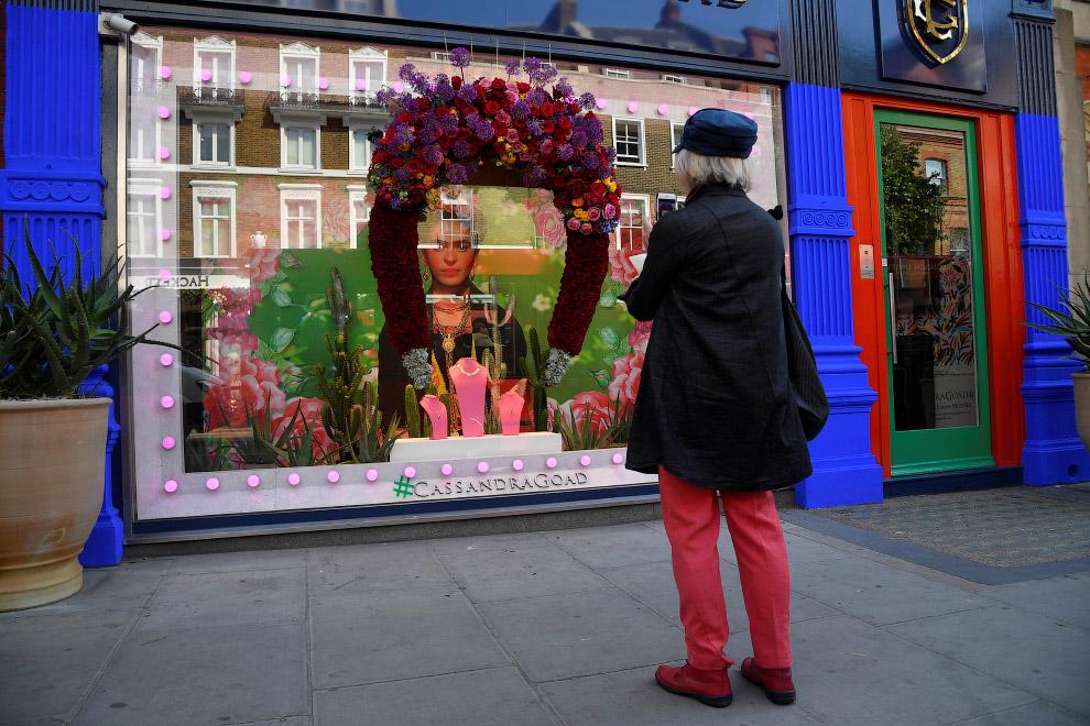 BRITAIN-FLOWER/CHELSEA