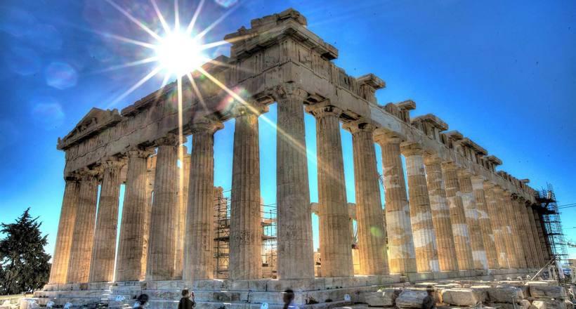 Секрет Парфенона: почему он …