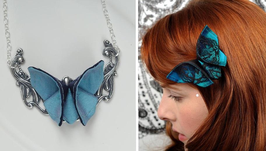 Крылья бабочки: великолепное украшение в технике оригами