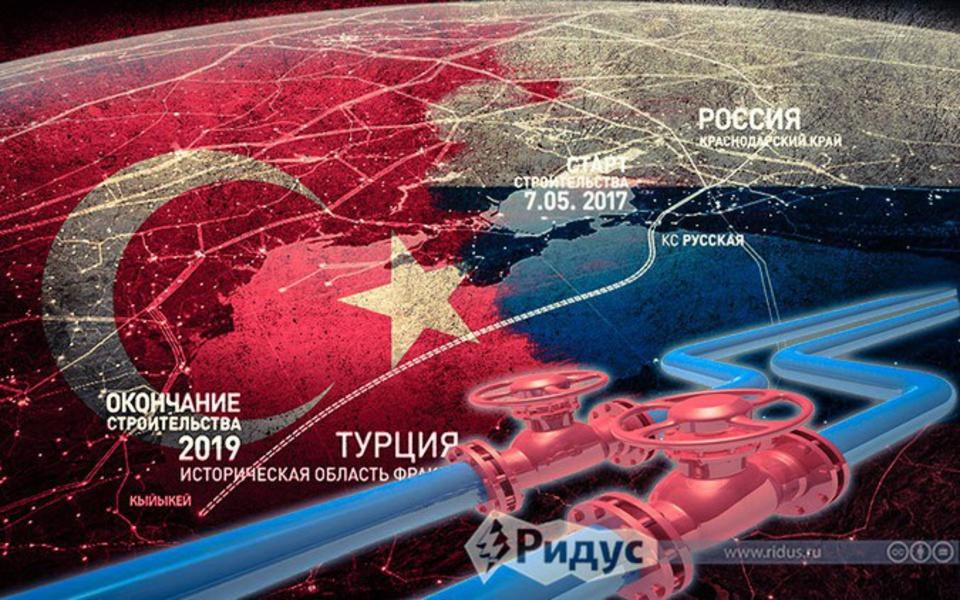 «Газпром» простился с Южным …