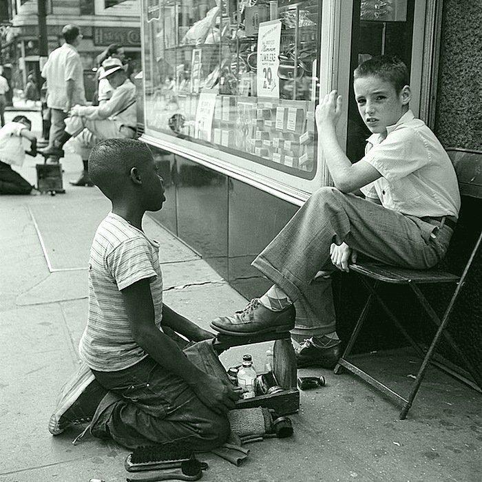 Вивиан Майер - Нью-Йорк 1954 Весь Мир в объективе, история, фотография