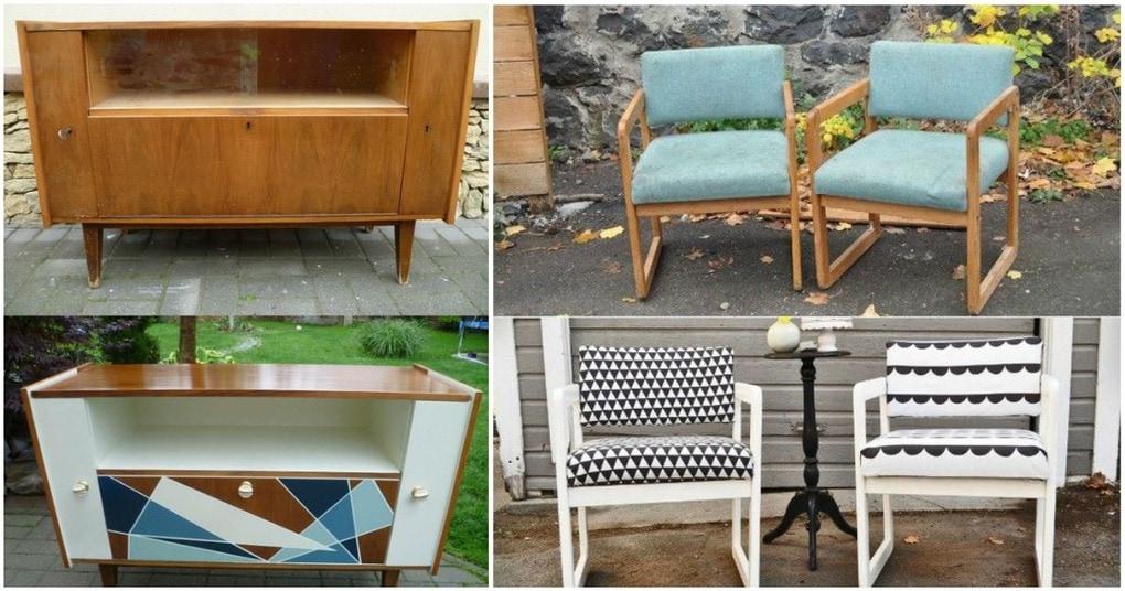 10 интересных «до» и «после» переделки мебели, которые вы должны увидеть