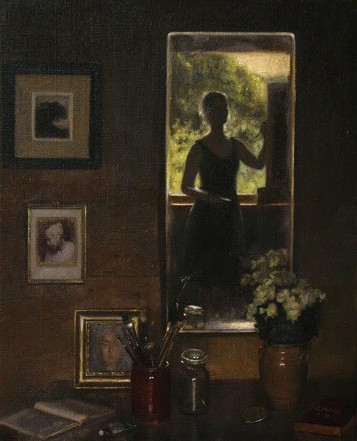 Чья прелесть тоньше, чем вуаль... Норвежская художница Корнелия Хёрнс