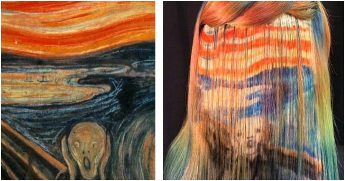 Невероятные эксперименты с волосами парикмахера Урсулы Гофф