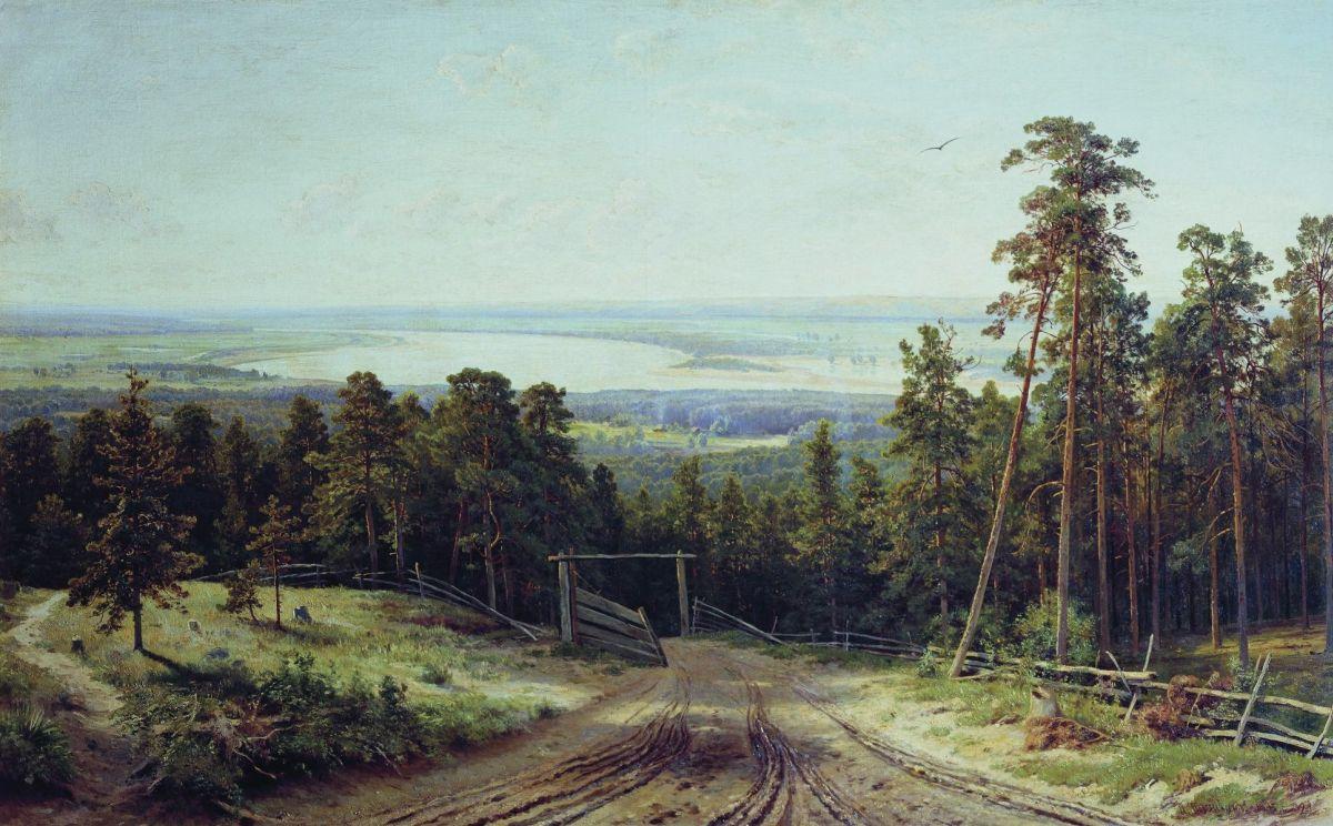 Иван Иванович Шишкин. Кама близ Елабуги