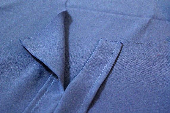Правильный пошив воротника-стойки воротник-стойка,крой и шитьё,одежда,своими руками