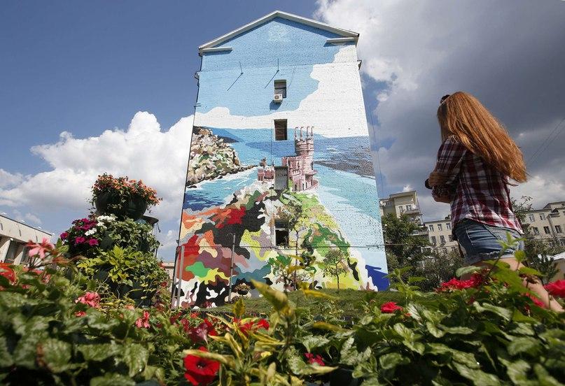 Самые интересные московские граффити