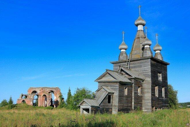 Церковь Вознесения Христова архитектура, колокольни, наследие, россия, север, храмы