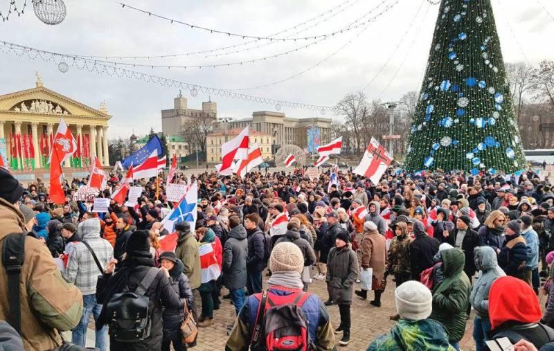 Белоруссия: три главных и непоправимых ошибки «майданщиков» Политика