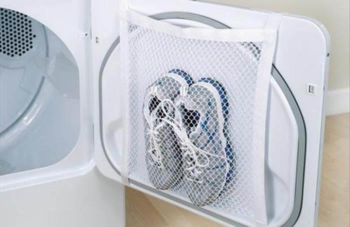 Сетка для стирки кроссовок гаджет, изобретение, полезное