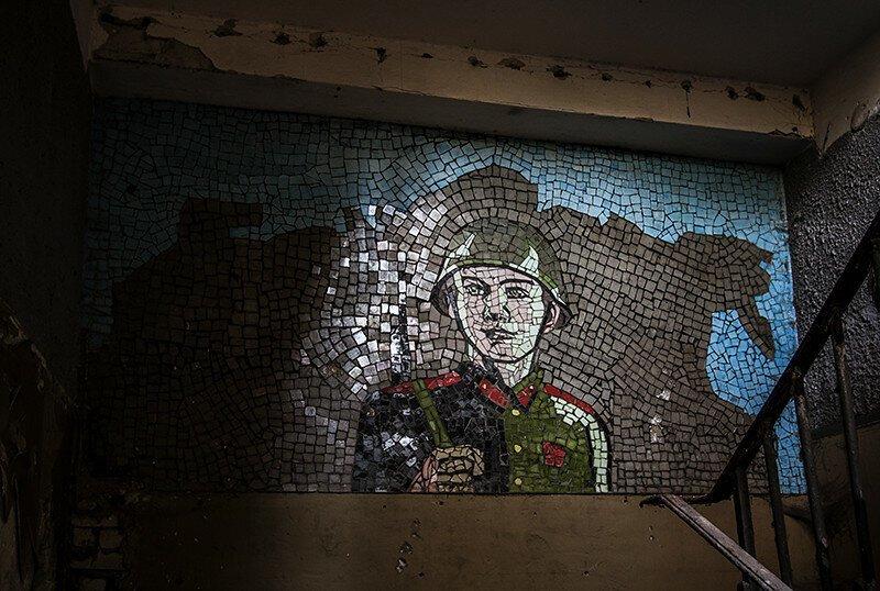 Забытые военные части армия, военная часть, заброшенное, забытое, россия, эстетика
