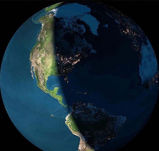 Что происходит на Земле за один день