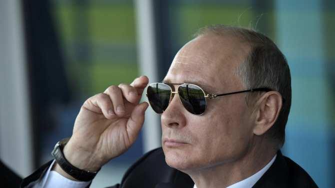 Путин пострелял из снайперск…