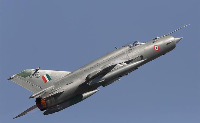 Как из старого МиГ-21 Индия сделала истребитель, который сбил F-16