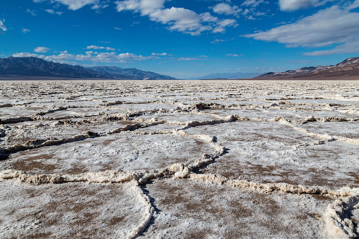 Долина Смерти. Самое жаркое место на нашей планете