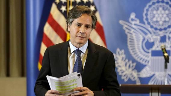 Блинкен заявил, что США не будут заниматься «дорогостоящими военными интервенциями» для насаждения демократии