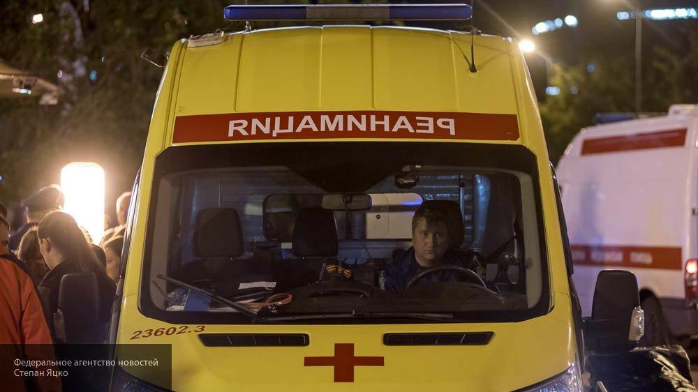 В Самаре столкнулись две легковушки: пострадали два человека