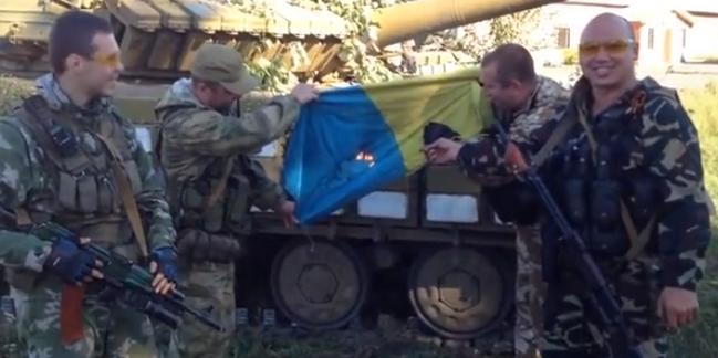 20 ополченцев на «Жигулях» разбили колонну ВСУ и захватили 5 танков