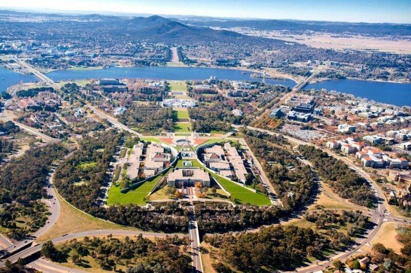 Столица Большой Барьерный риф, австралия, интересное, континент, природа, факты