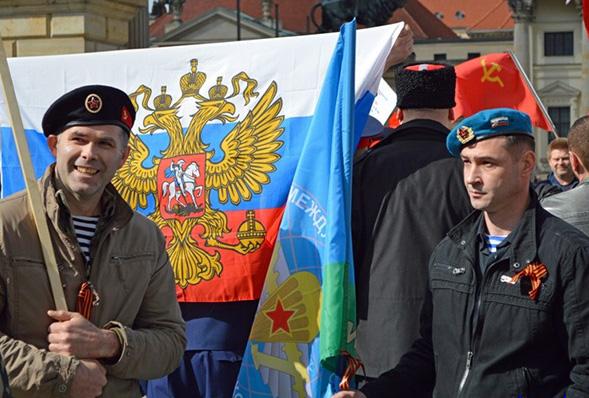 Немецкие добровольцы собираются в Донбасс