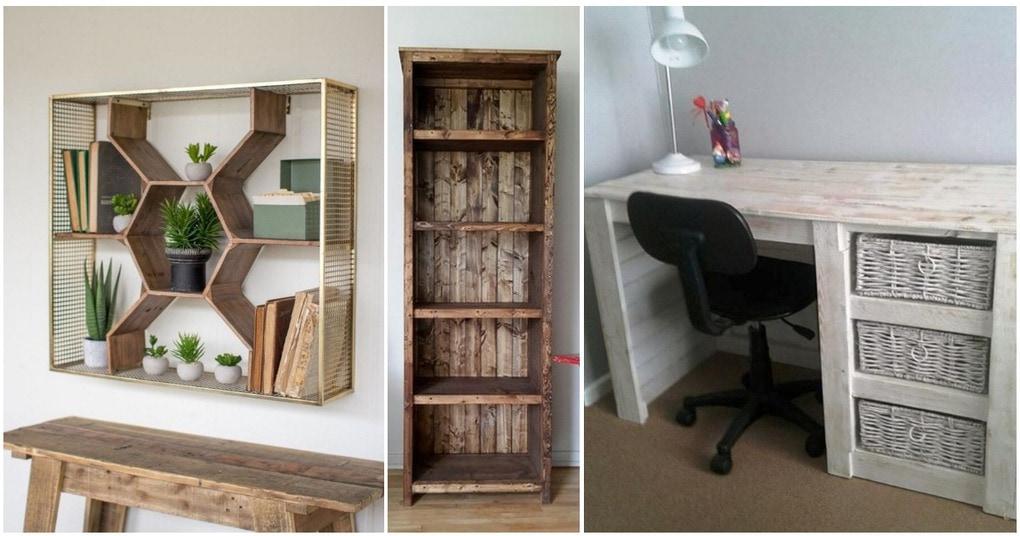 Простые и практичные идеи создания мебели для вашего комфорта