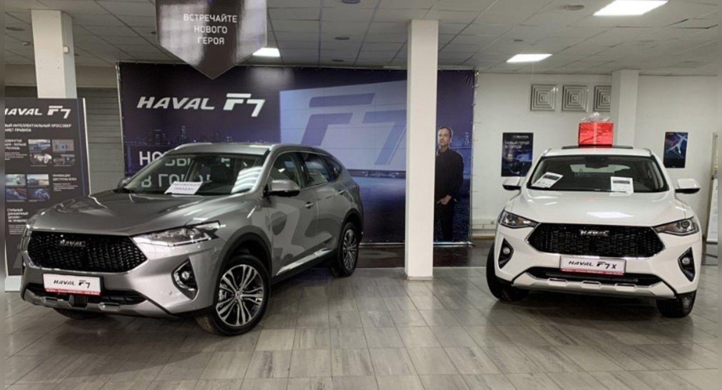 Продажи Haval на рынке России в январе выросли на 28% Автобизнес