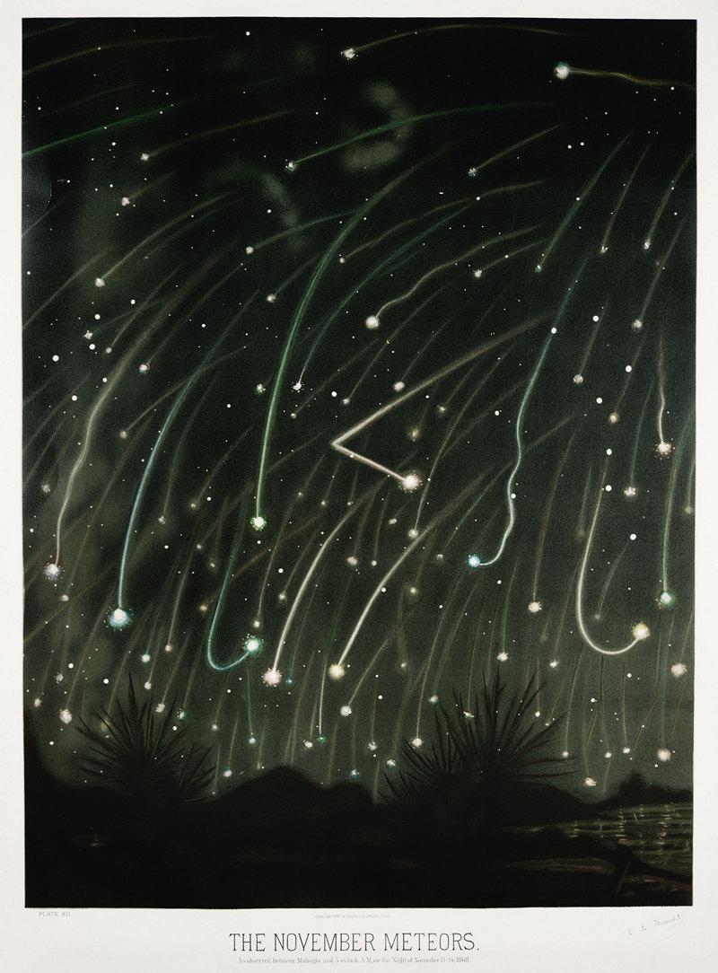 Старинные астрономические рисунки Этьена Трувело 6