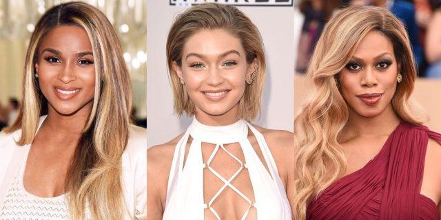 Оттенки для светлых волос
