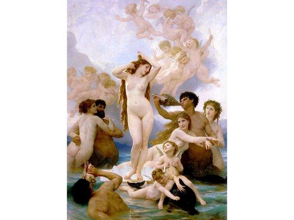 Обнаженный символизм «Рождения Венеры» Вильяма Бугро