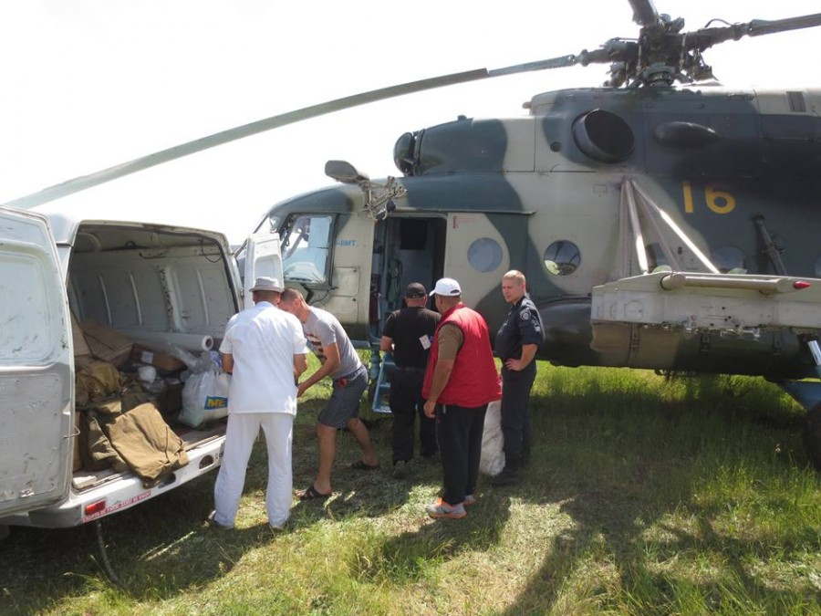 Сбитие украинского вертолета с генералом Кульчицким