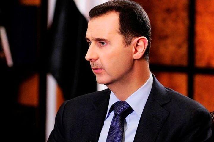 Асад выразил Путину в связи с крушением Ил-20 в Сирии