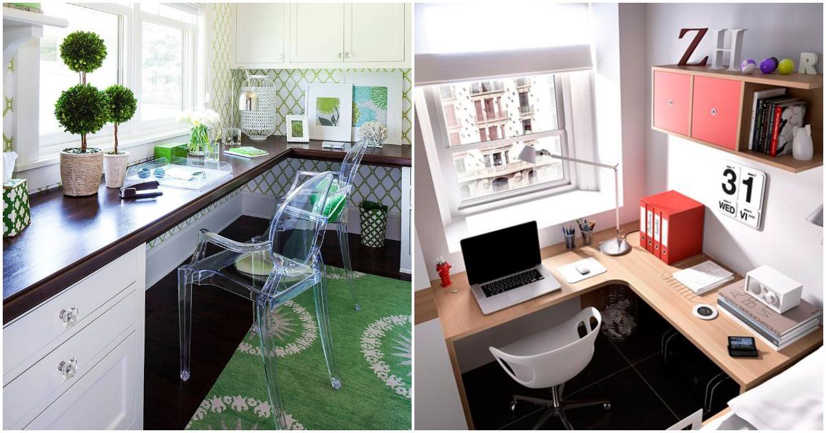 Стильные идеи организации домашнего офиса по всем правилам
