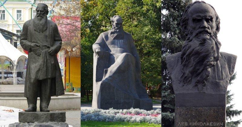 15. Лев Толстой ленин, памятник, память, пушкин, россия, топ